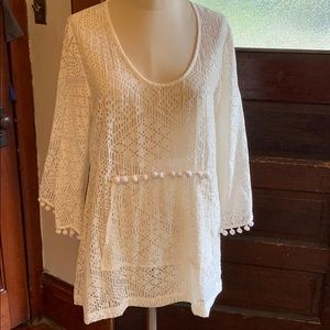 Anthropologie Swimsuit Cover up size small